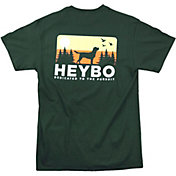 Heybo Men's Dog Skyline Short Sleeve T-Shirt