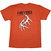 Heybo Men's Hanging Antlers Short Sleeve T-Shirt