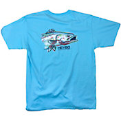 Heybo Men's Painted Sea Trout Short Sleeve T-Shirt