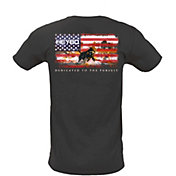 Heybo Men's Patriotic Ava Short Sleeve T-Shirt