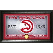 Highland Mint Atlanta Hawks Man Cave Panoramic Bronze Coin Photo Mint