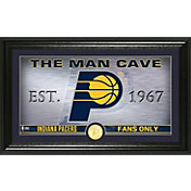 Highland Mint Indiana Pacers Man Cave Panoramic Bronze Coin Photo Mint