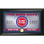 Highland Mint Detroit Pistons Man Cave Panoramic Bronze Coin Photo Mint
