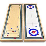 Gosports Shuffleboard and Curling 2-in-1 Game