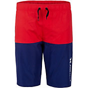 Hurley Boys' Double Color Pull On Swim Trunks