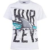 Hurley Boys' Finrip Short Sleeve T=Shirt