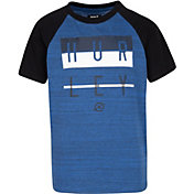 Hurley Boys' Streaky Raglan Short Sleeve T-Shirt