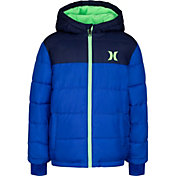 Hurley Boys' Summit Full-Zip Puffer Jacket