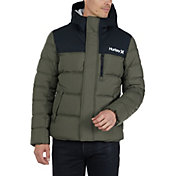 Hurley Men's Barrel Full-Zip Puffer Jacket