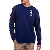 Hurley Men's Premium USA Long Sleeve T-Shirt