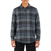 Hurley Men's Portland Flannel Long Sleeve Shirt