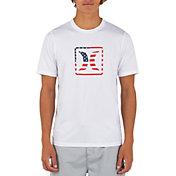 Hurley Men's Americana Short Sleeve Rash Guard