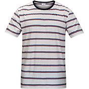Hurley Men's Serape Stripe Short Sleeve Shirt