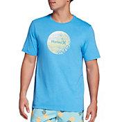 Hurley Men's Strands Circle Graphic T-Shirt