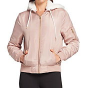 Hurley Women's Nylon Bomber Jacket