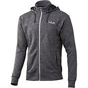 Huk Men's Fin Tech Fleece Full Zip Hoodie