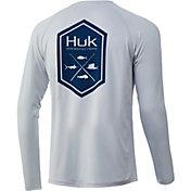 HUK Men's Hex Pursuit Long Sleeve Fishing Shirt