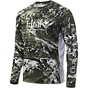 Huk Men's Mossy Oak Pursuit Long Sleeve Fishing Shirt