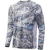 Huk Men's Mossy Oak Pursuit Long Sleeve Fishing Shirt