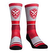 Rock 'Em Socks DC Defenders Striped Socks
