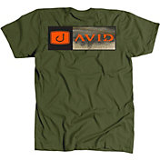 AVID Men's Bar Logo Bass Fill T-Shirt