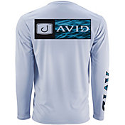 AVID Men's Bar Logo Water Camo AVIDry Long Sleeve Performance Shirt