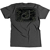 AVID Men's Iconic Black Camo T-Shirt