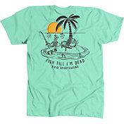 AVID Men's Fish Till I'm Dead T-Shirt