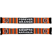 Ruffneck Scarves Houston Dynamo Forever Orange Jacquard Knit Scarf