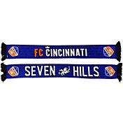 Ruffneck Scarves FC Cincinnati 7 Hills Scarf
