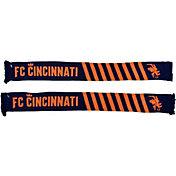 Ruffneck Scarves FC Cincinnati Diagonals Jacquard Knit Scarf