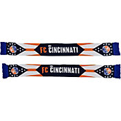 Ruffneck Scarves FC Cincinnati State Flag Jacquard Knit Scarf