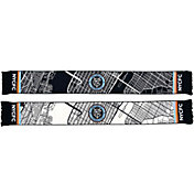 Ruffneck Scarves New York City FC Map Woven Scarf