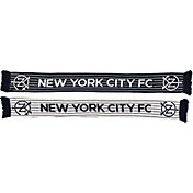 Ruffneck Scarves New York City FC Pintstripes Jacquard Knit Scarf