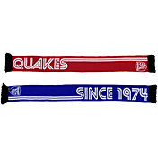 Ruffneck Scarves San Jose Earthquakes Retro Ultra Soft Knit Scarf