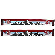 Ruffneck Scarves Colorado Rapids Rocky Mountains Jacquard Knit Scarf
