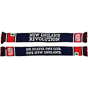 Ruffneck Scarves New England Revolution Six States Jacquard Knit Scarf