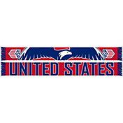 Ruffneck USA Soccer Eagle Jacquard Knit Scarf
