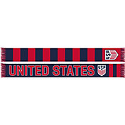 Ruffneck USA Soccer Hoops Jacquard Knit Scarf