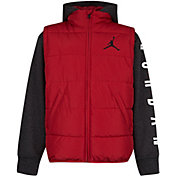 Jordan Boys' Jumpman 2Fer Full-Zip Puffer Jacket