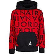 Jordan Boys' Air Jordan Stencil Pullover Hoodie