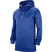 Jordan Men's Florida Gators Blue Alpha Therma Fleece Pullover Hoodie