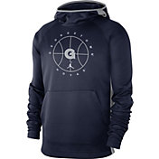 Nike Men's Georgetown Hoyas Blue Spotlight Basketball Pullover Hoodie