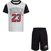 Jordan Boys' 23 Short Sleeve T-Shirt and Shorts Set
