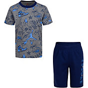 Jordan Little Boys' Fun Flight AOP T-Shirt and Shorts Set