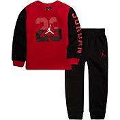 Jordan Toddler Boys' Fleece Crewneck Sweatshirt and Jogger Pants Set