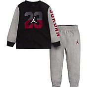 Jordan Toddler Boys' Fleece Crewneck Sweatshirt and Jogger Pants Set