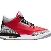 Jordan Kids' Grade School Air Jordan Retro 3 Basketball Shoes