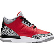 Jordan Kids' Preschool Air Jordan Retro 3 Basketball Shoes
