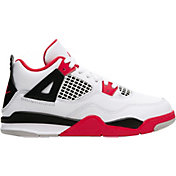 Jordan Kids' Preschool Air Jordan 4 Retro Basketball Shoes